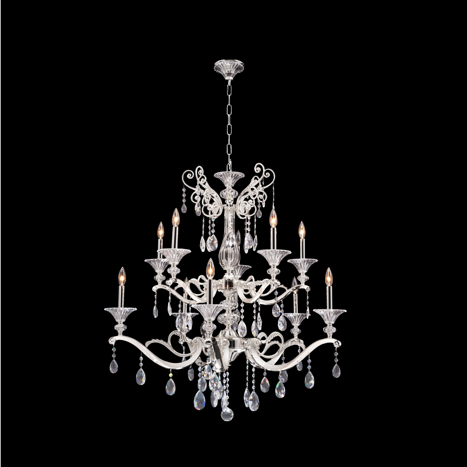 Vasari 10 Light Chandelier
