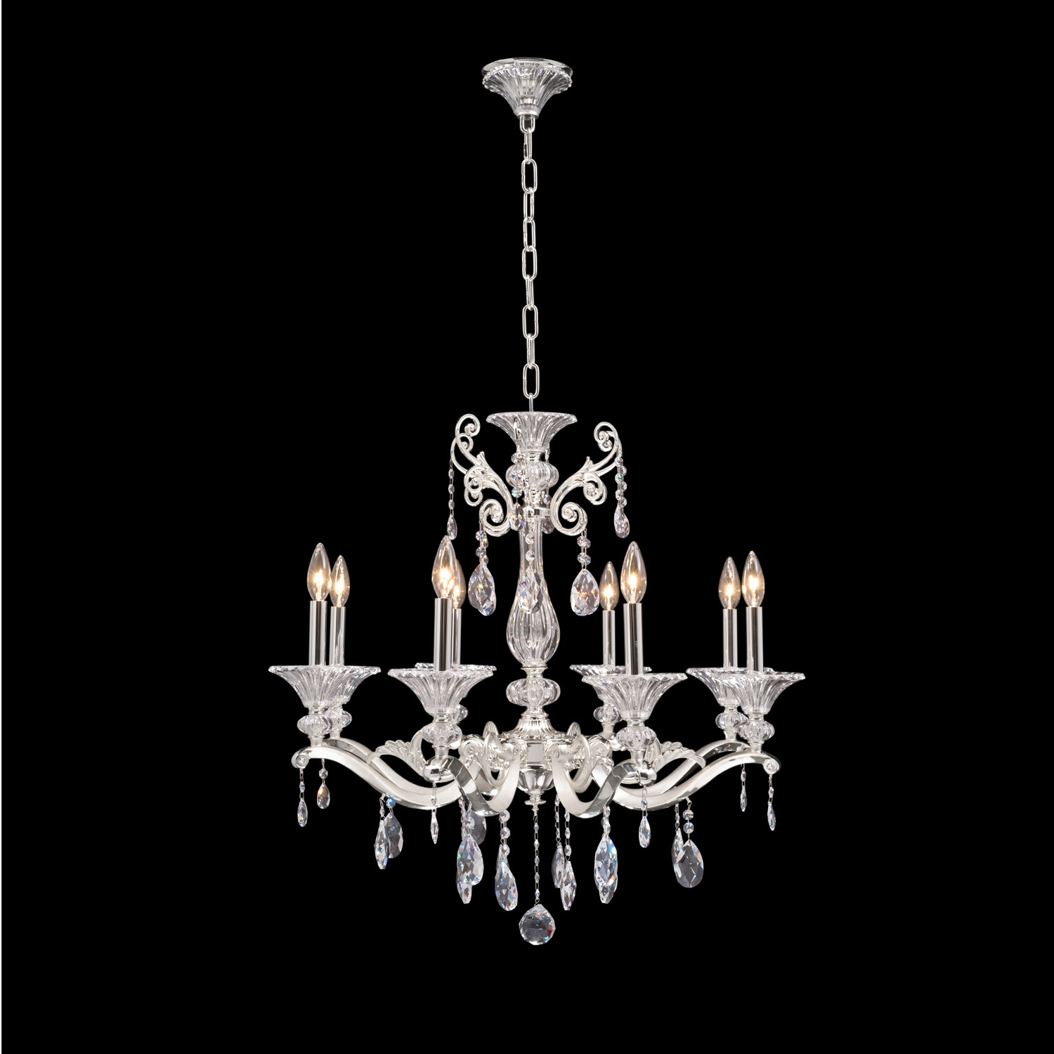 Vasari 8 Light Chandelier